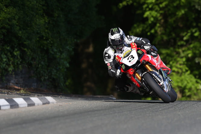 It wasn't the best year for Michael Dunlop in 2015