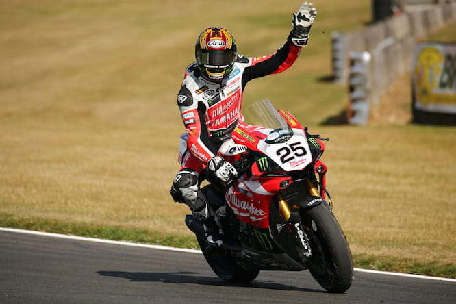 Brookes took the first of six straight wins at Brands Hatch