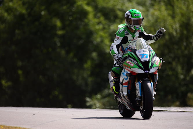 James Ellison held the early advantage