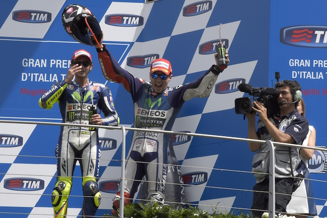 Lorenzo found form in Europe