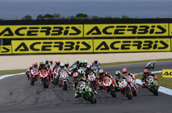 The season started back at Phillip Island in February