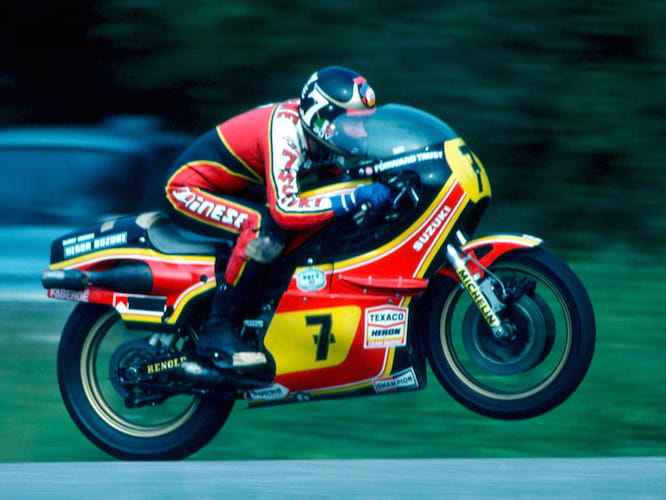 Barry Sheene was the last British champion before Sheene