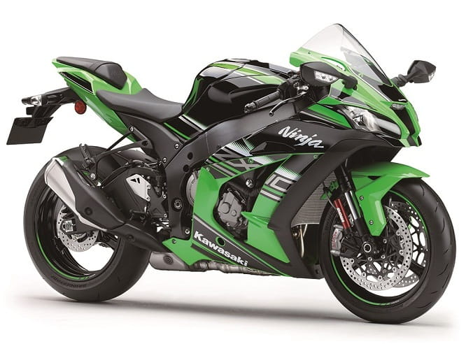 Kawasaki's 2016 ZX10R with input from Rea and Sykes