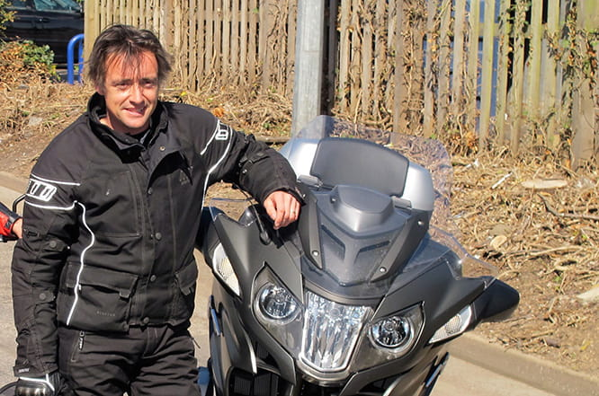 From 1927 Sunbeam to a Norton 961, Top Gear's Richard Hammond has owned plenty of bikes