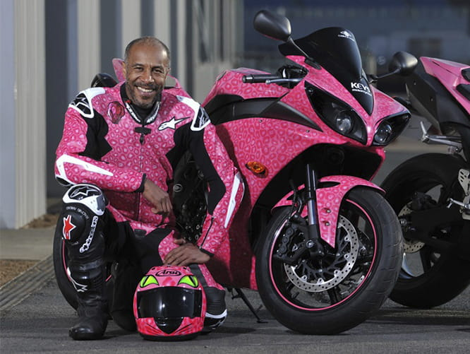 From Red Dwarf to Pink R1, Danny John Jules