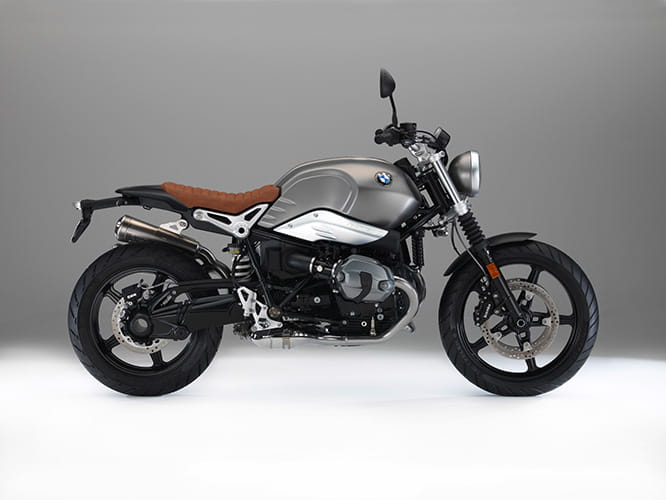 Not available until September 2016, BMW's Scrambler-spec version of the Rnine-T