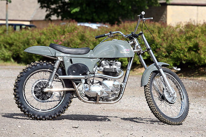 Priced around £15,000, Metisse's Desert Racer and Hammer Mk3 use reconditioned Triumph 650cc T6 engines