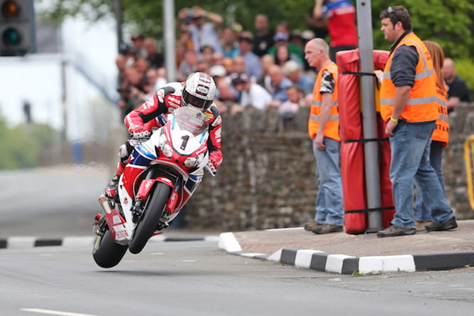 McGuinness charged down Bray Hill