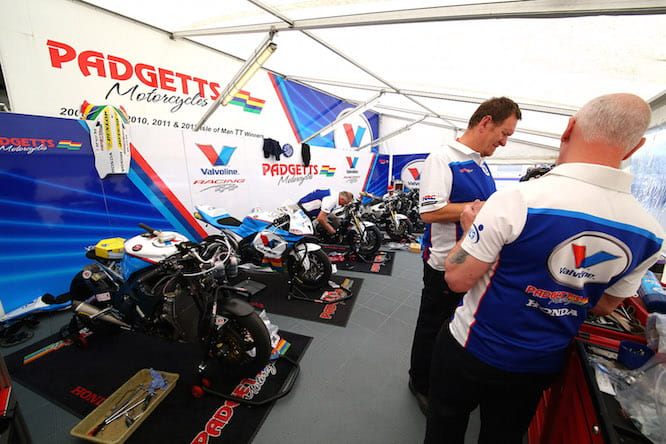 The Padgetts family are legendary on the UK racing scene