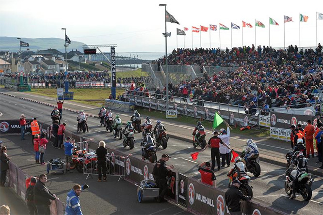 Held in Northern Island only a couple of weeks ahead of the Isle of Man TT is the NW200