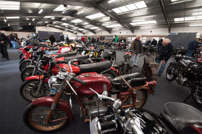 Stafford Show includes a huge auto jumble and one of the biggest classic auctions