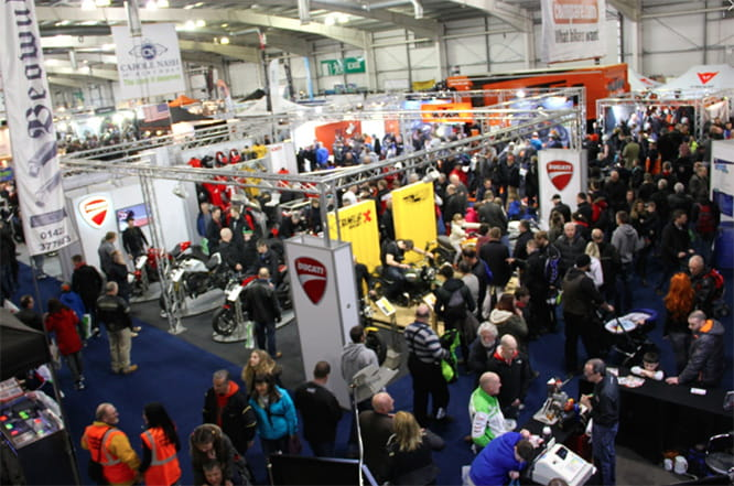 MCN Scottish Show with celebrity guests, stunt shows and latest models...all in Edinburgh