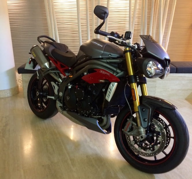 Triumph's all new Speed Triple R