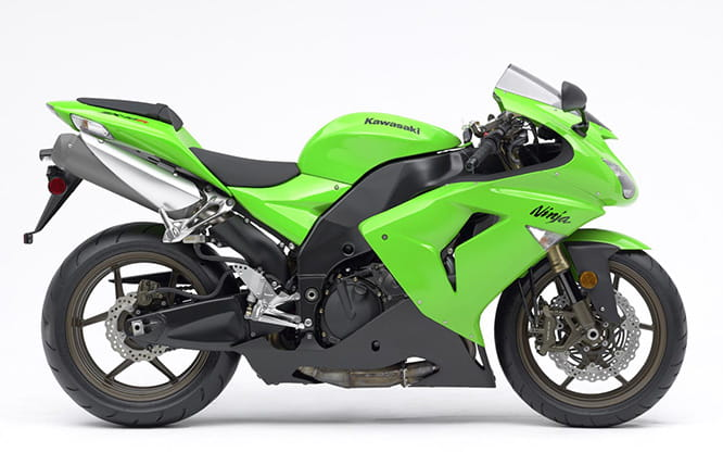 2006's ZX-10R makeover ended up being virtually a whole new machine
