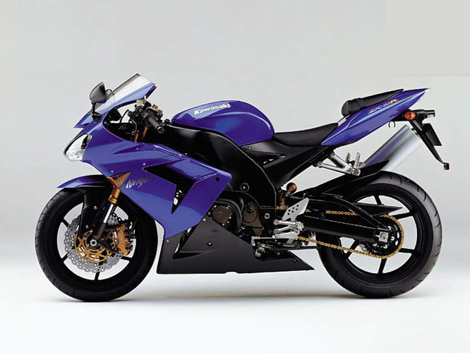 The original ZX-10R from 2004