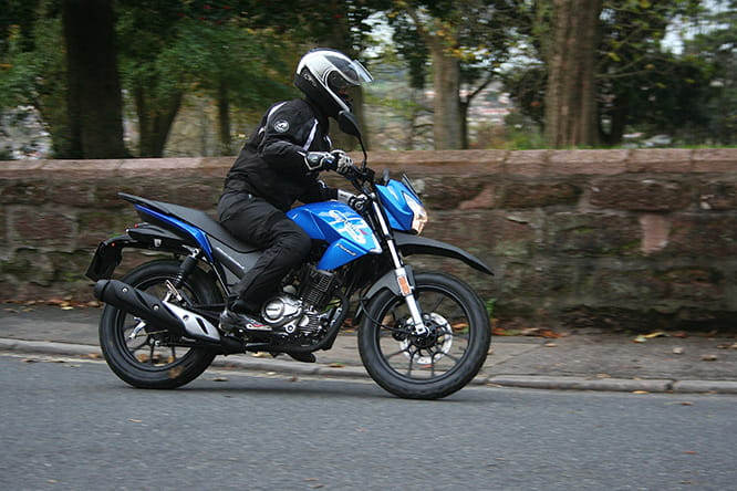 Little Lexmoto is light and easy to ride