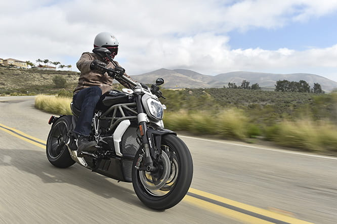 Blue skies, California and an XDiavel. What more can a man (or woman) want?