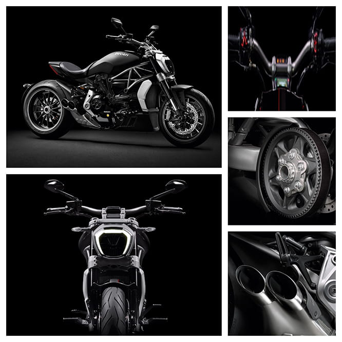 XDiavel in detail.