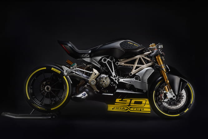 Ducati unveils new Dragster concept