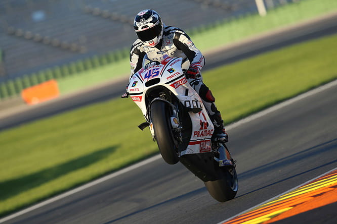 Redding could be quick on the Ducati
