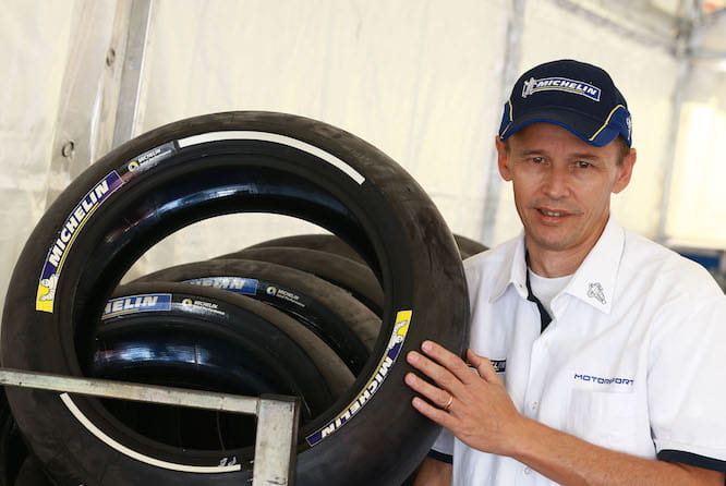 Michelin's Nicolas Goubert