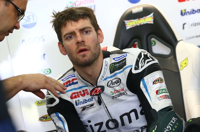 Crutchlow will start the season on the 2015 Honda