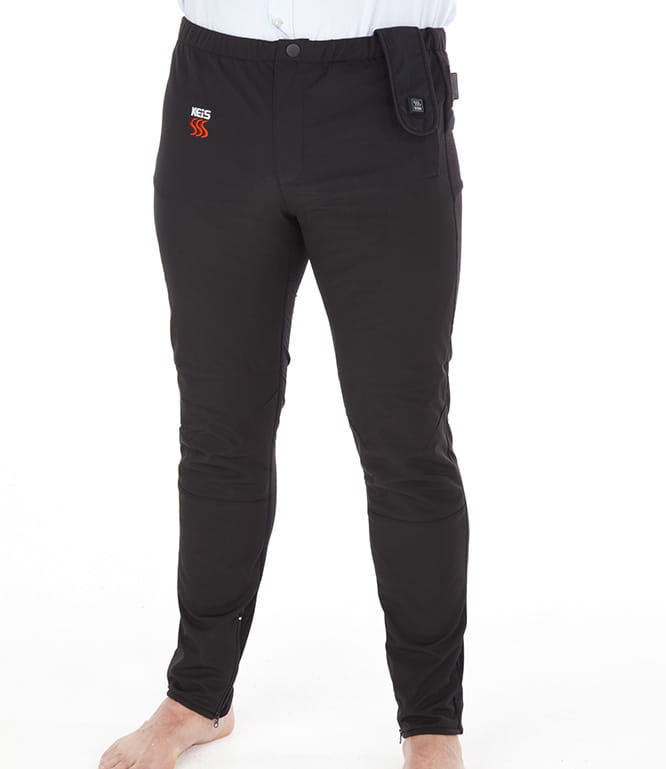 For around £150 these X2i heated trousers from KEiS will keep you toasty
