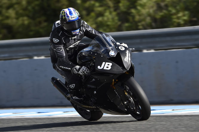 Brookes on the brakes at Jerez
