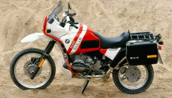 Official Paris-Dakar replica BMW R100 GS