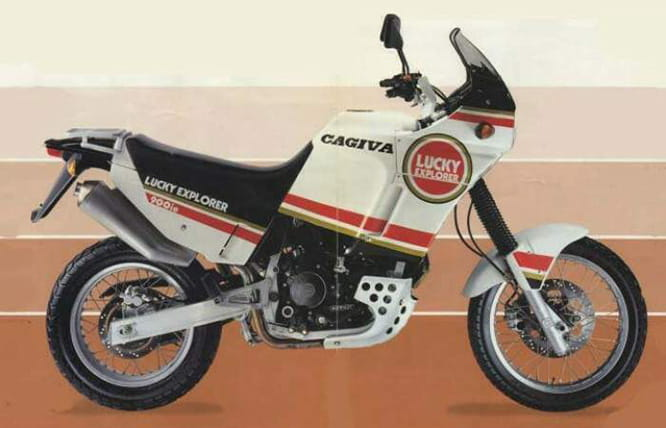 1990 Cagiva Elefant 900ie Lucky Explorer