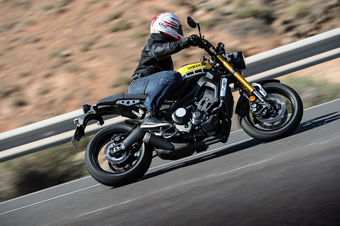 Comfortable, quick, entertaining and versatile - the XSR900's got the lot