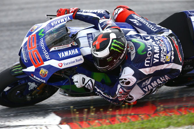 Jorge Lorenzo dominated on day 1