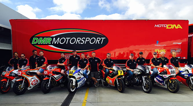 DMR Motorsport's epic line-up, worth over $1m