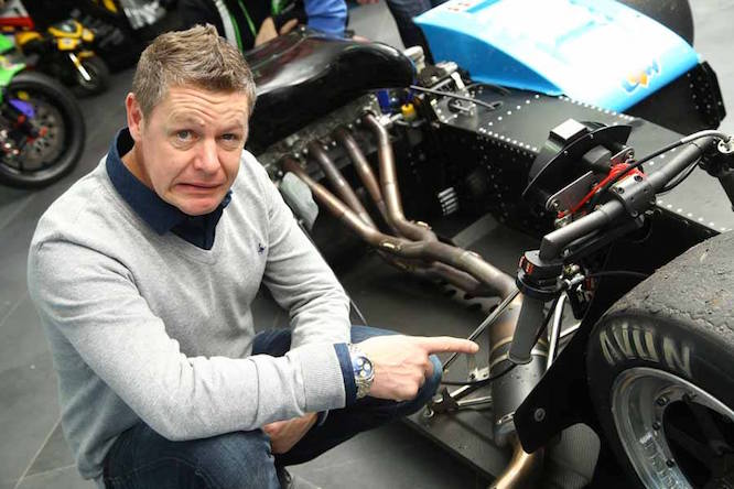 Chris Walker on why he's making the sidecar switch