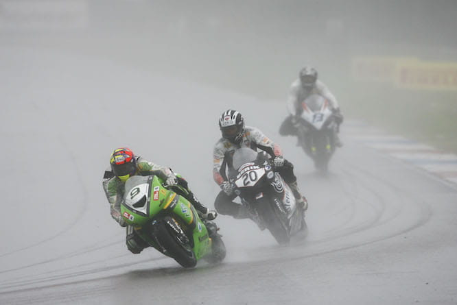 Walker famously won in Assen from the back of the grid