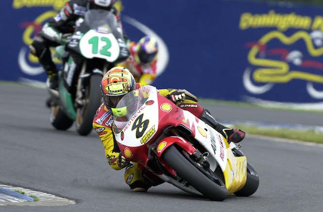 Walker during the 2001 British Grand Prix