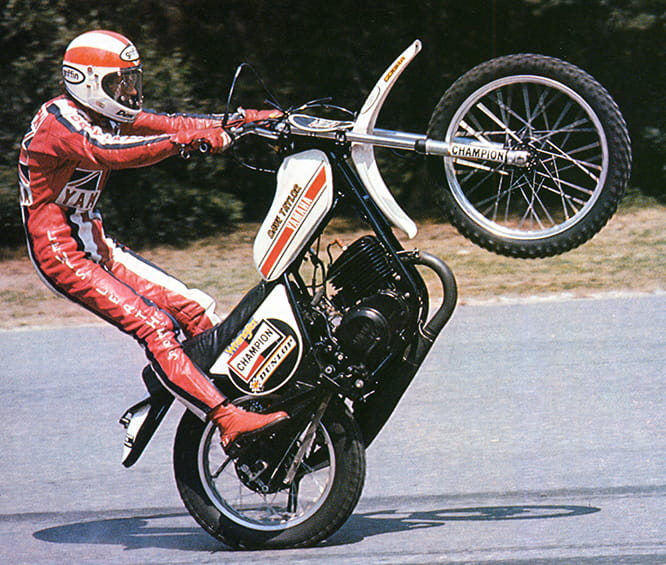 'Wheelie King' Dave Taylor MBE