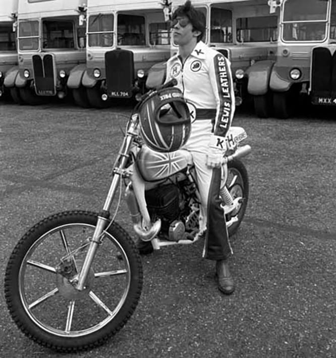 The English 'Evel Knievel' - Eddie Kidd OBE