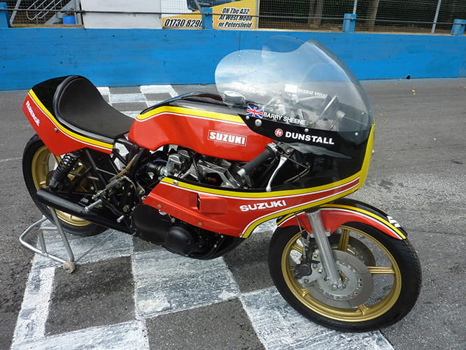 The Good: 1979 ex-Sheene F1 GP bike