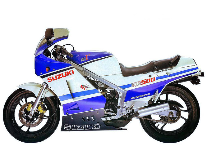 The best of the mid-80s GP500 replicas was the RG500