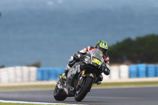 Crutchlow on track in Phillip Island