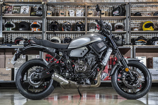 Yamaha XSR700 - a bargain at £6249