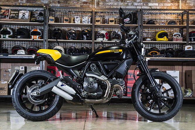 Ducati Scrambler Full Throttle: £8531