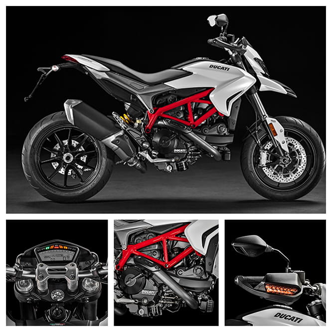 A host of change to the 2016 Hypermotard 939 range, not just the new 937cc motor