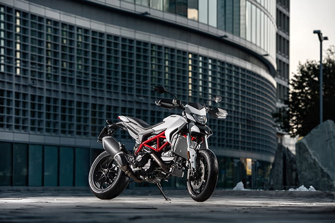 Ducati Hypermotard 939 is a great city bike, but even more fun out of town.
