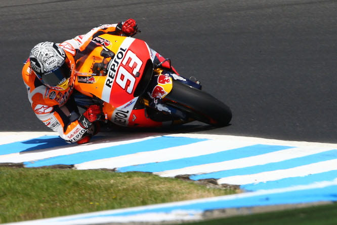 Marquez was more comfortable at Phillip Island