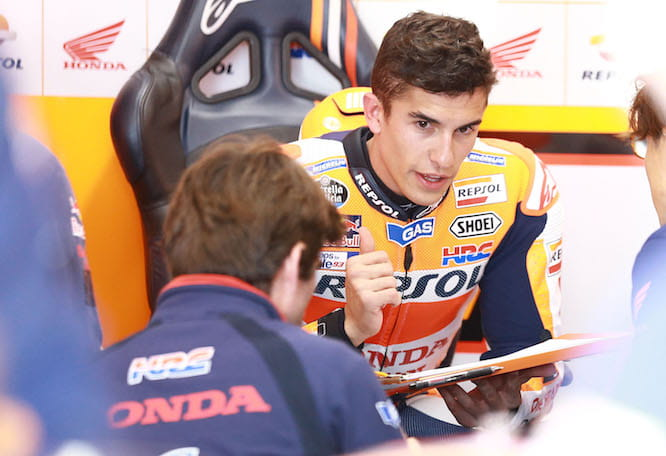 Marquez says they made a big step today