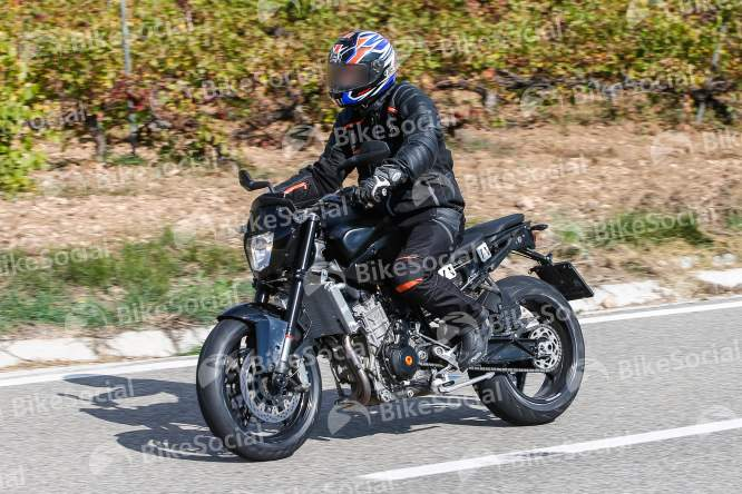Completely new 890 Duke by KTM has been spotted testing