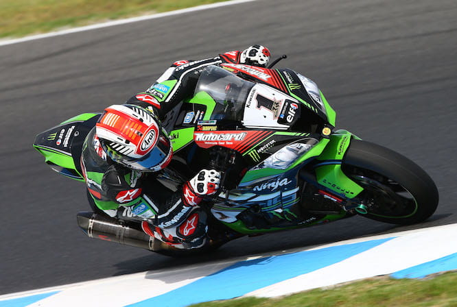 Jonathan Rea was fastest on Day 2 in Australia