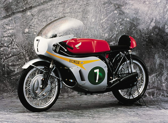 Possibly the most iconic racing motorcycle of all time: Honda's 250-6